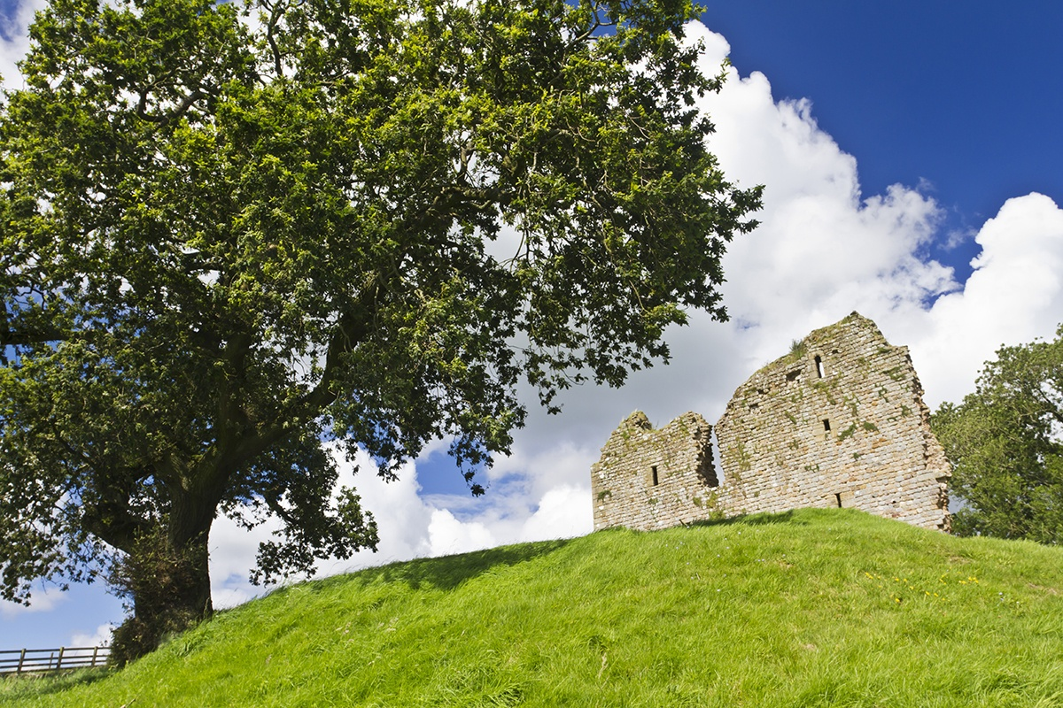Thirlwall Castle in Greenhead
