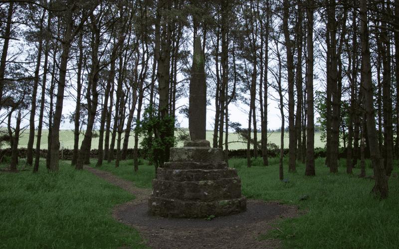 Percy Cross memorial in Otterburn