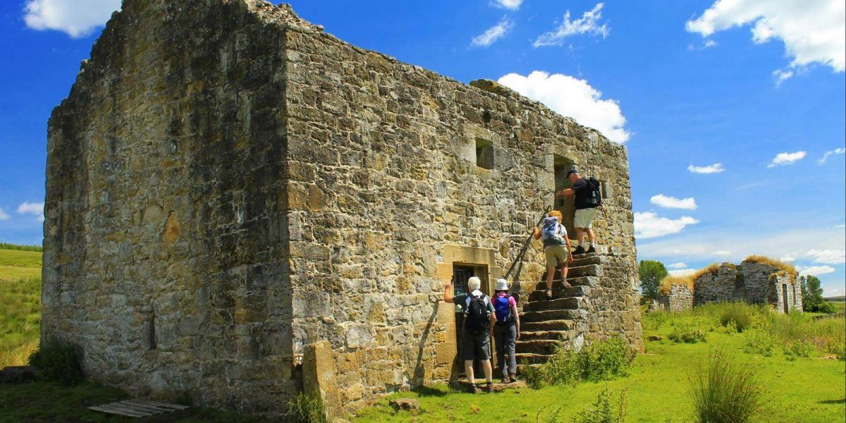 Guided walks in Northumberland National Park