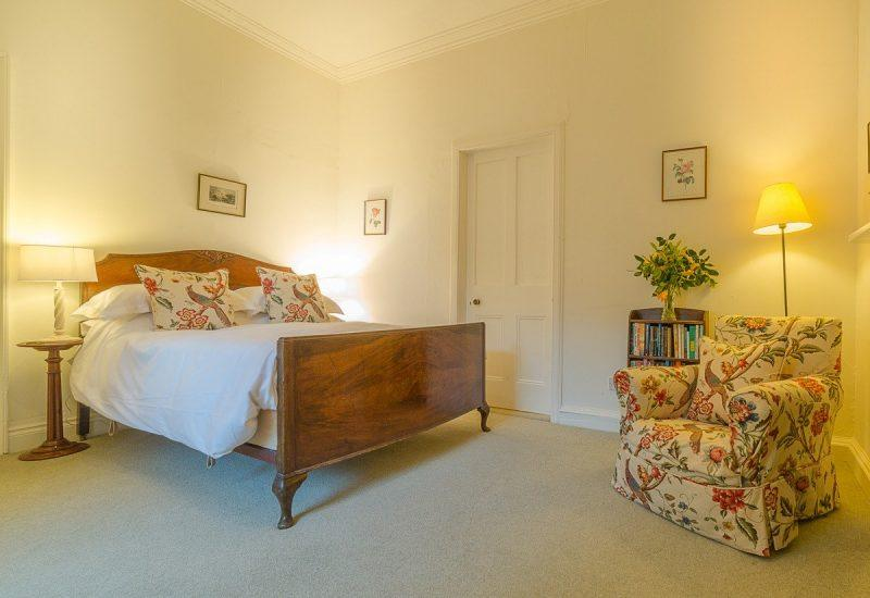 A bedroom in Budle Hall, Bamburgh