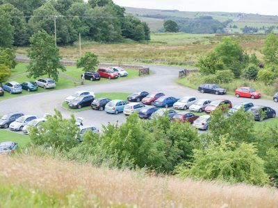 One of the National Park Car Parks at Walltown