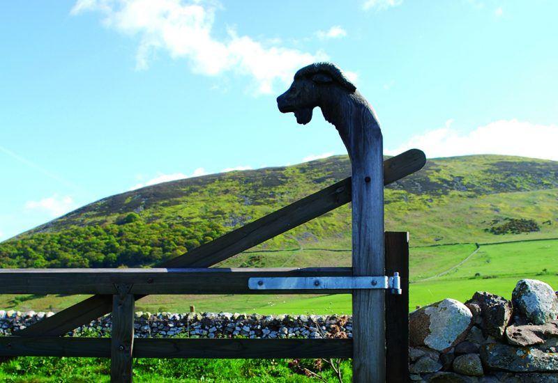 Goat gate to Gefrin
