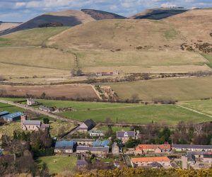 The village of Kirknewton