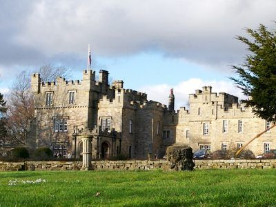 Otterburn Hall and estate in Otterburn, Northumberland