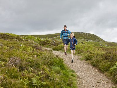 father and son fell running in the Simonside Hills