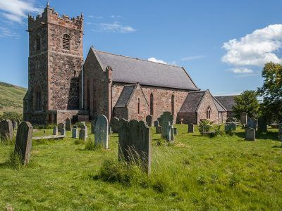 St Gregory the great church at Kirknewton