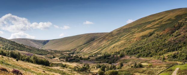 landscape photo of the Upper College valley