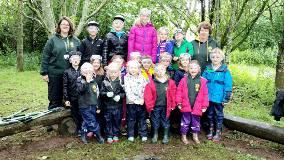Branton Forest School Pupils