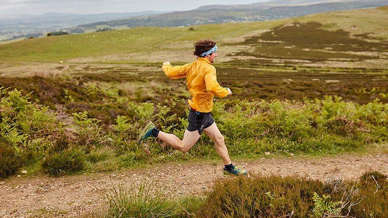Fell running in Northumberland National Park