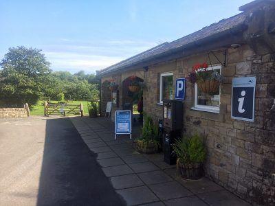 Walltown Kiosk in Northumberland National Park