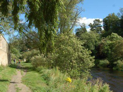 Rothbury Riverside pathway
