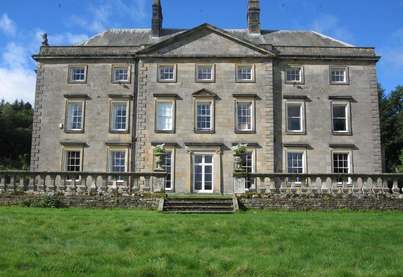 A photo of a stately home