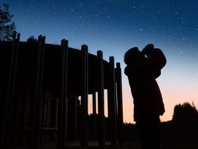 stargazing in Stonehaugh