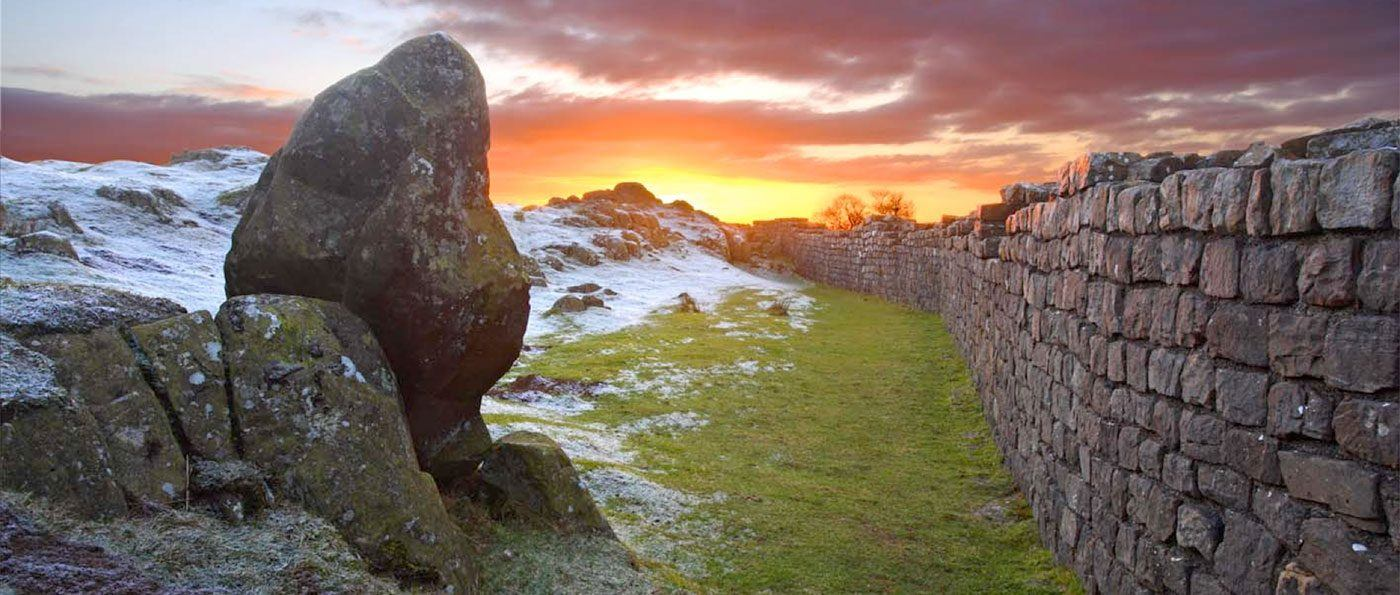 Hadrians Wall in the Winter