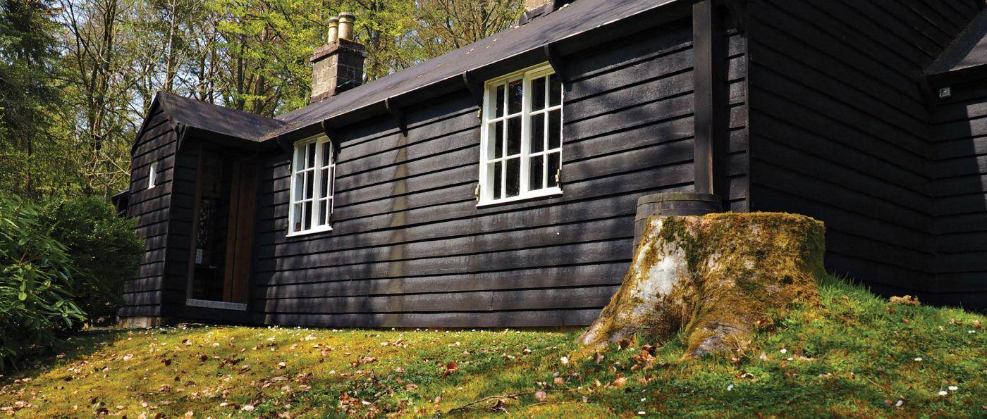 Blackhouse at Catcleugh Reservoir