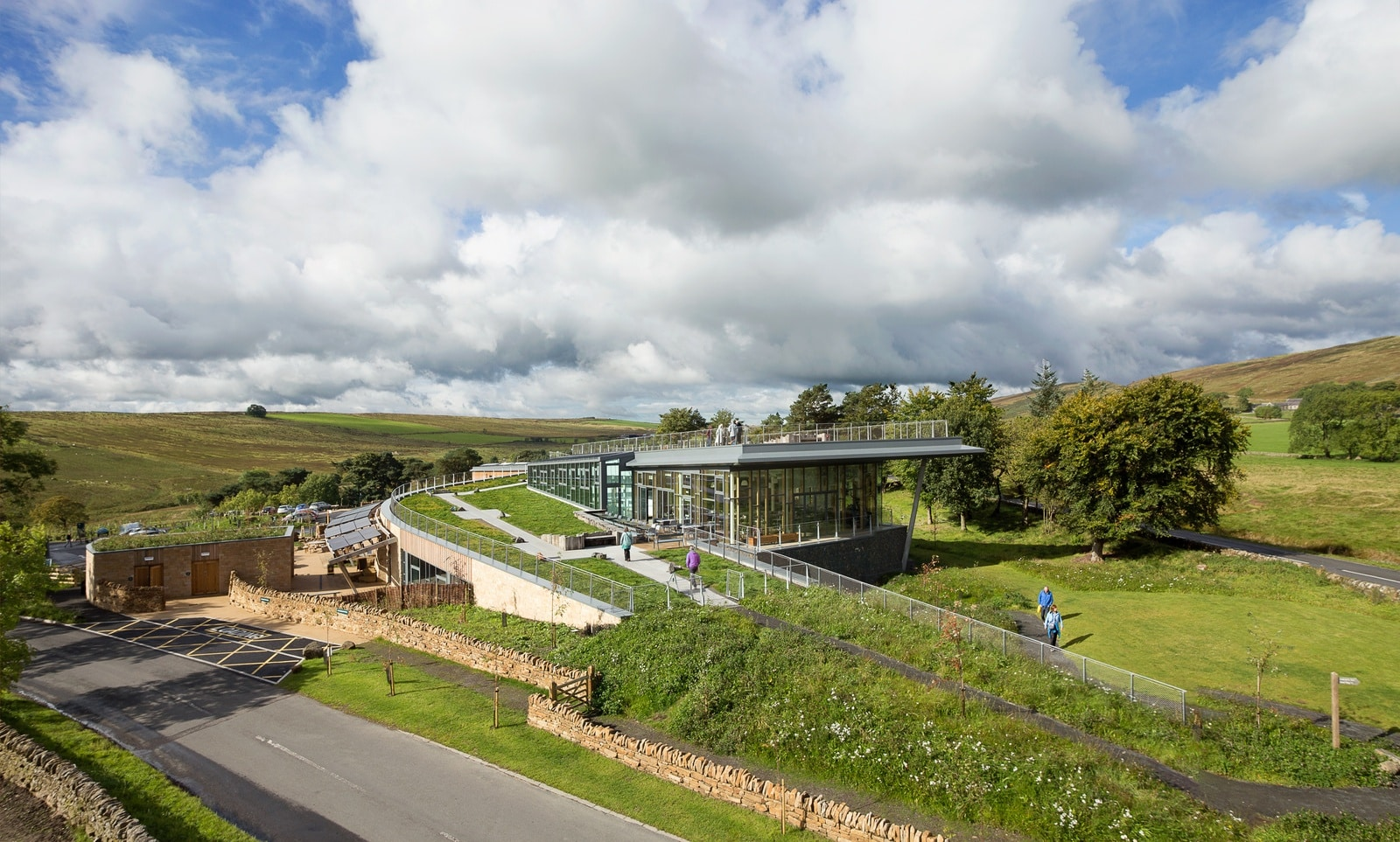 The Sill National Landscape Discovery Centre Building