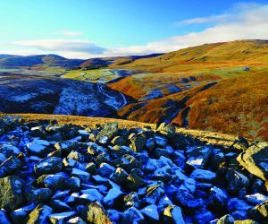 hillforts in winter