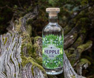 hepple gin bottle