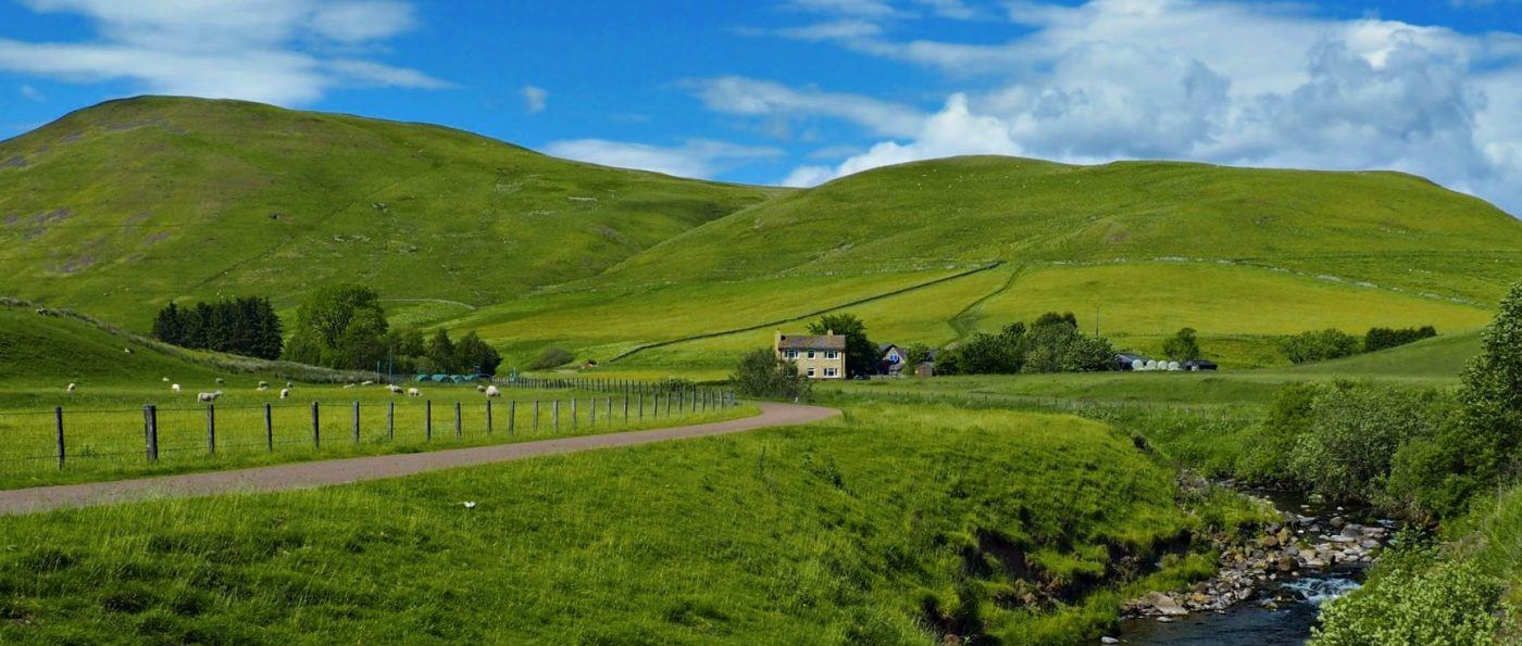 Barrowburn panorama
