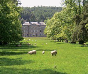 Hesleyside Hall in Northumberland National Park