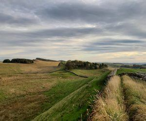Hadrian's Wall Trail National Trail in Northumberland National Park