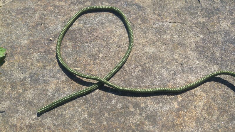 A piece of rope