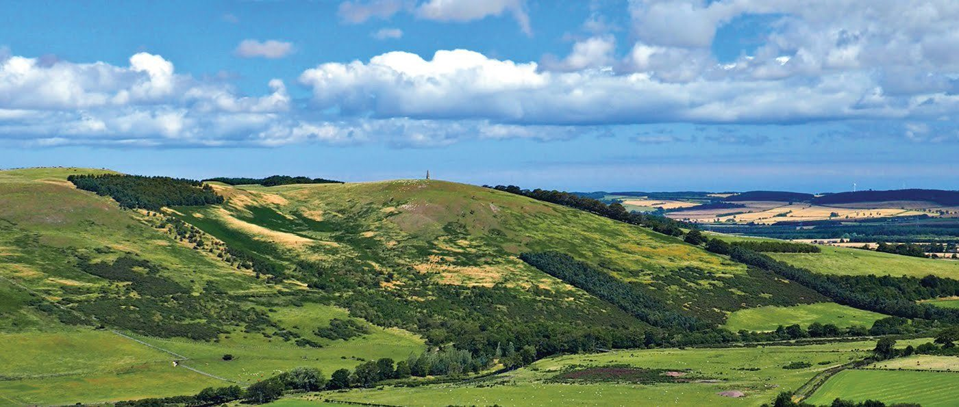 The view to Kirknewton from West Hill