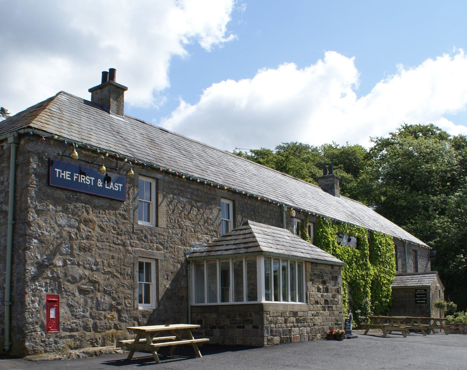 The Redesdale Arms public house and hotel