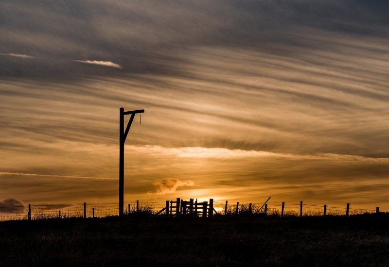 Winter's Gibbet in Elsdon, Northumberland